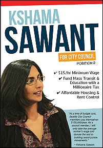 Sawant for Seattle City Council 2013.  Click here to learn more!